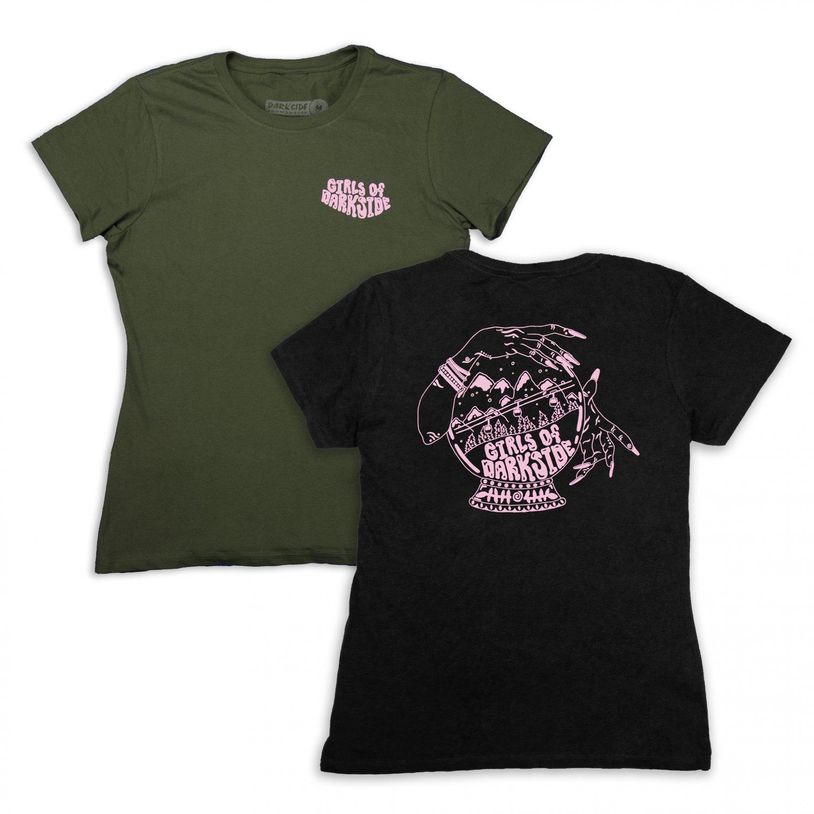 Girls of Darkside Crystal Ball Short Sleeve Shirt