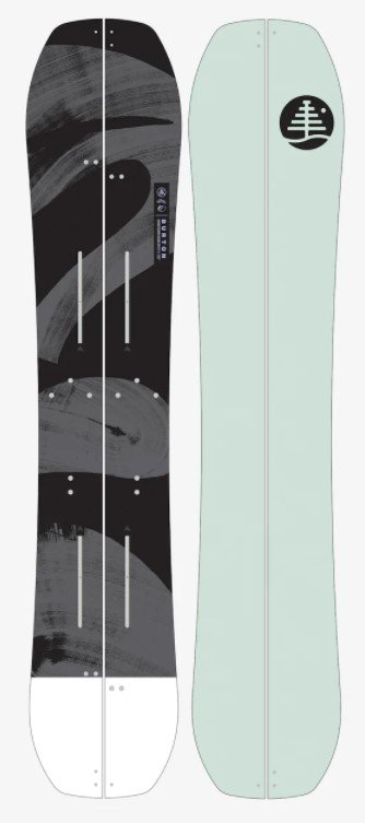 Burton Hometown Hero X Splitboard 162cm