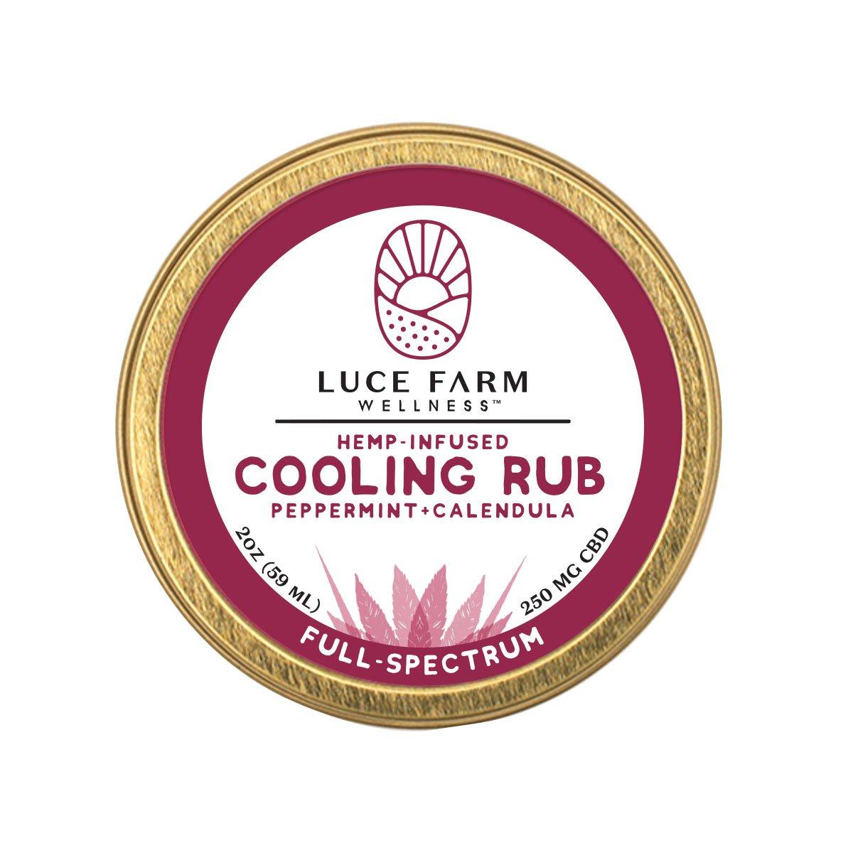 Luce Hill Hemp Cooling Rub