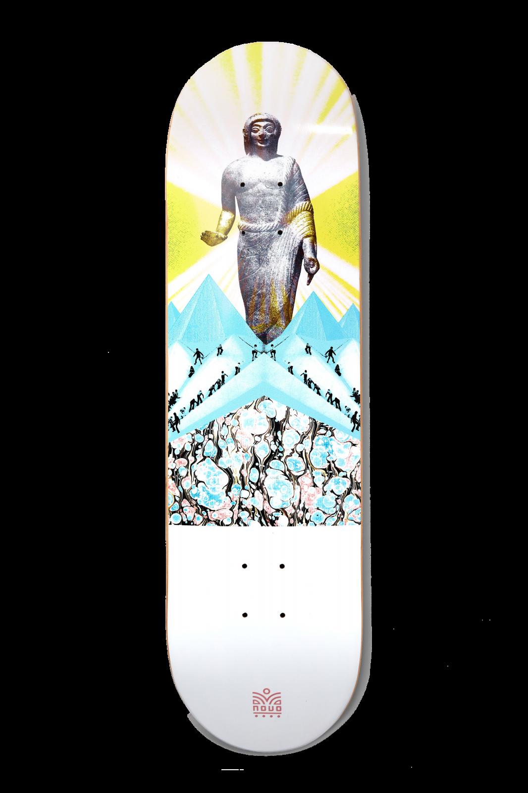 Novo Goddess Skateboard Deck (Multiple Size Options)