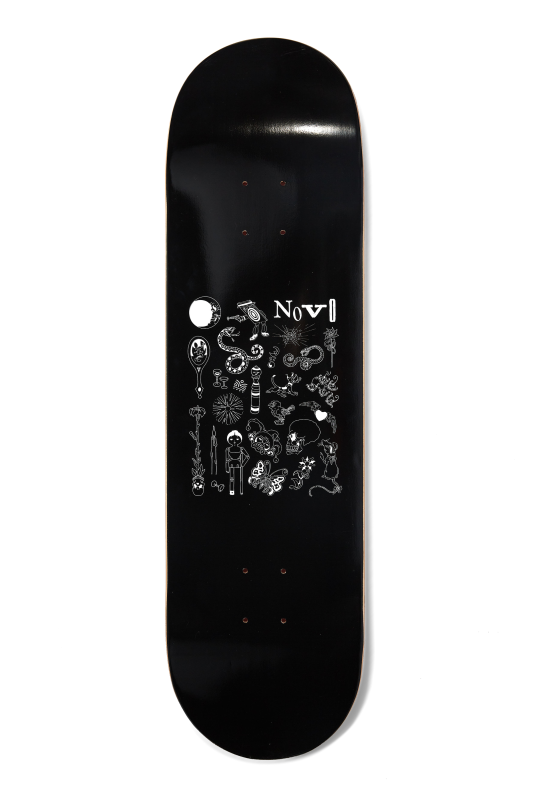 Novo Snakebite Circus Skateboard Deck (Multiple Size Options)