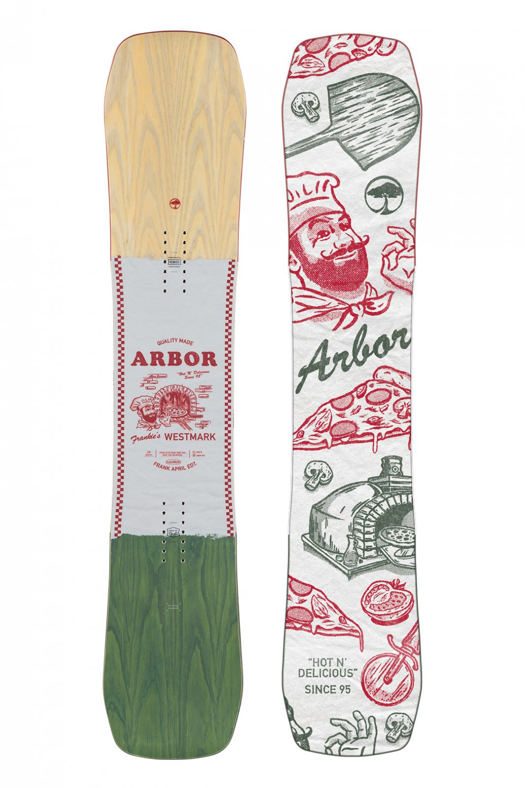 Arbor Westmark Camber Frank April Snowboard 2022