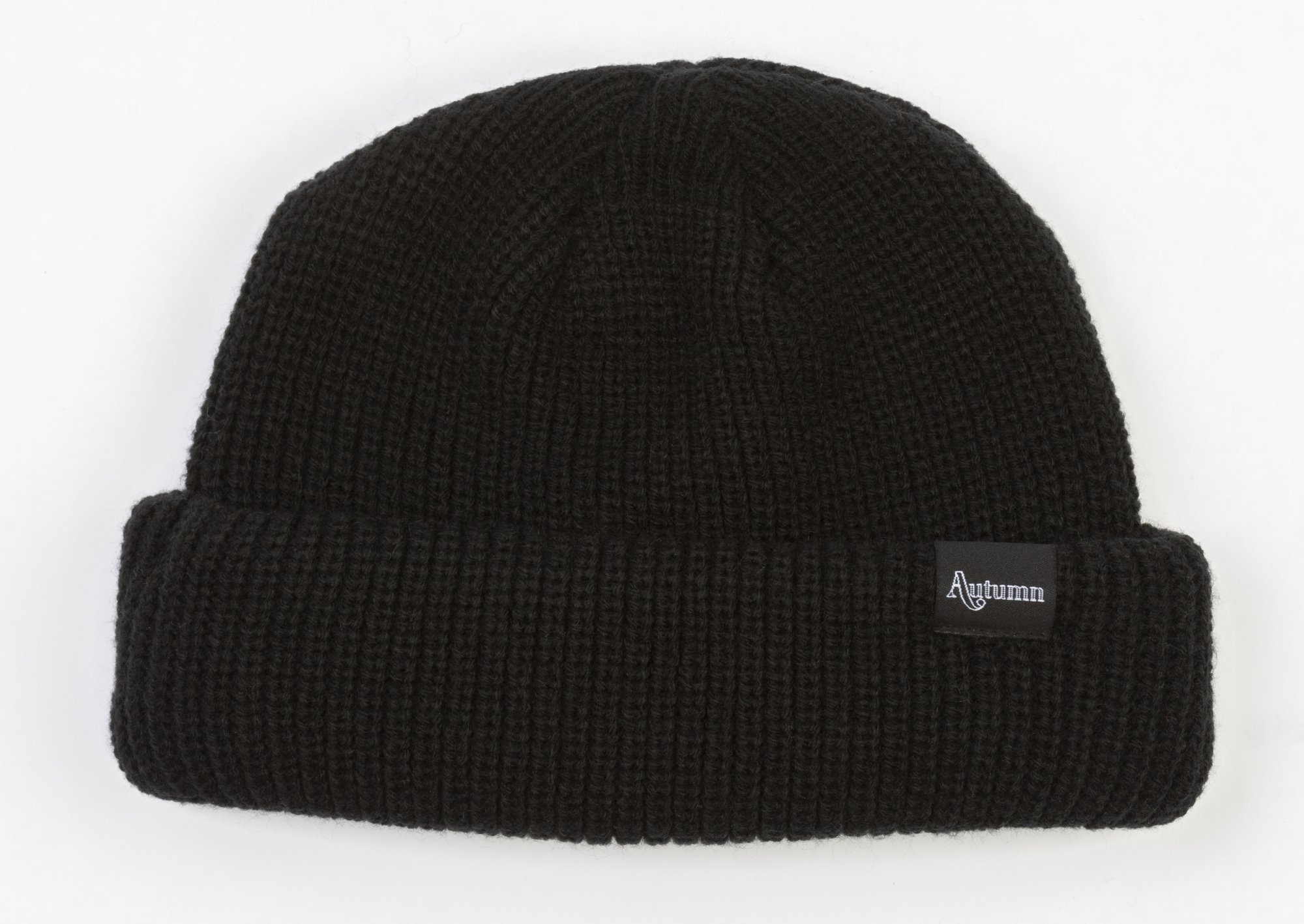 Autumn Shorty Double Roll Beanie (Multiple Color Options)