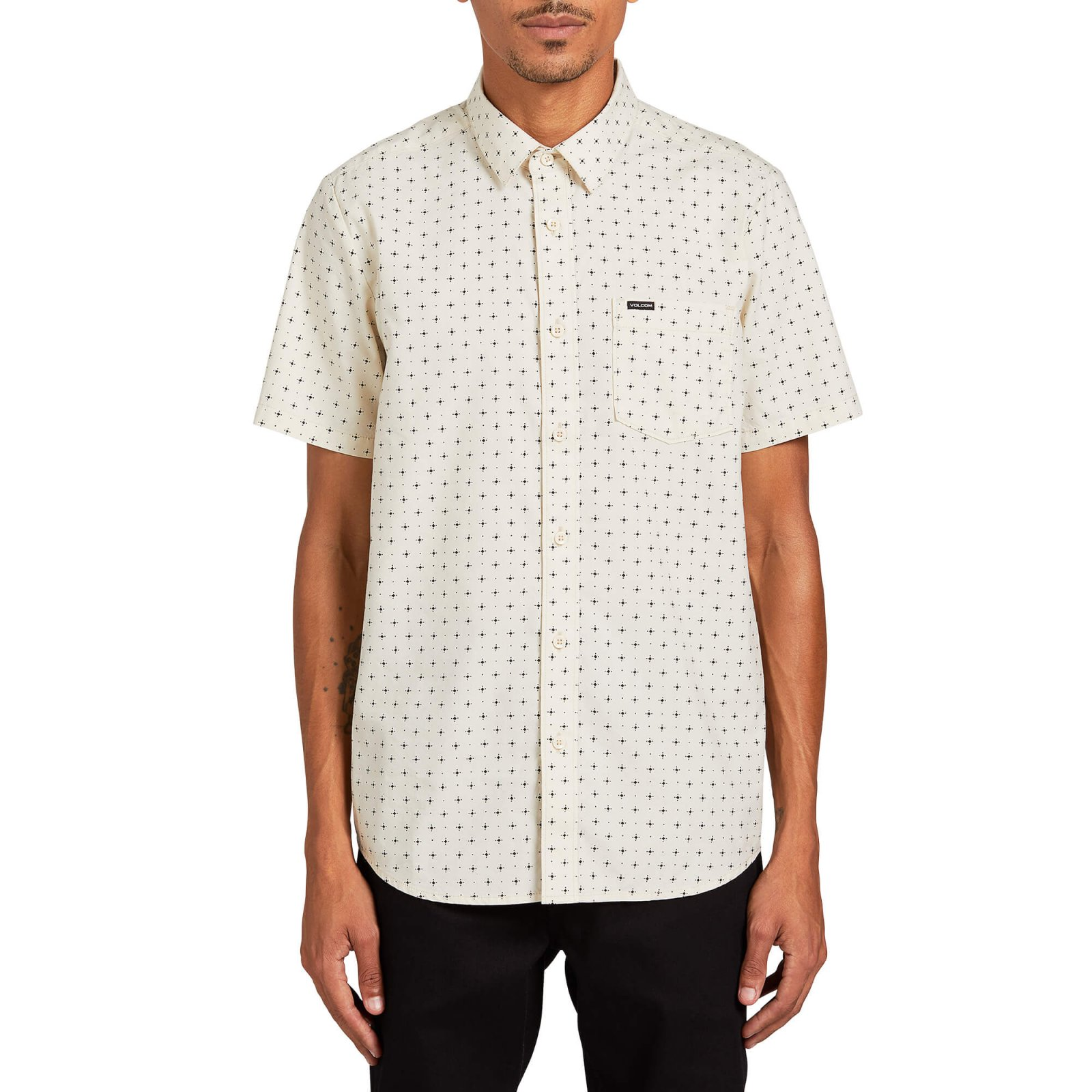 Volcom Hallock Short Sleeve Button Up Shirt