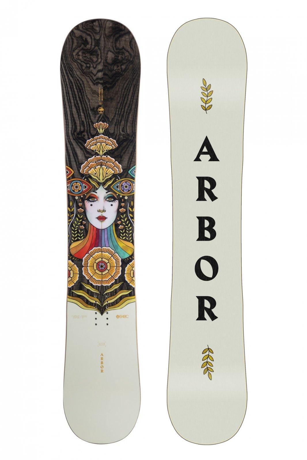Arbor Cadence Rocker Snowboard 2022