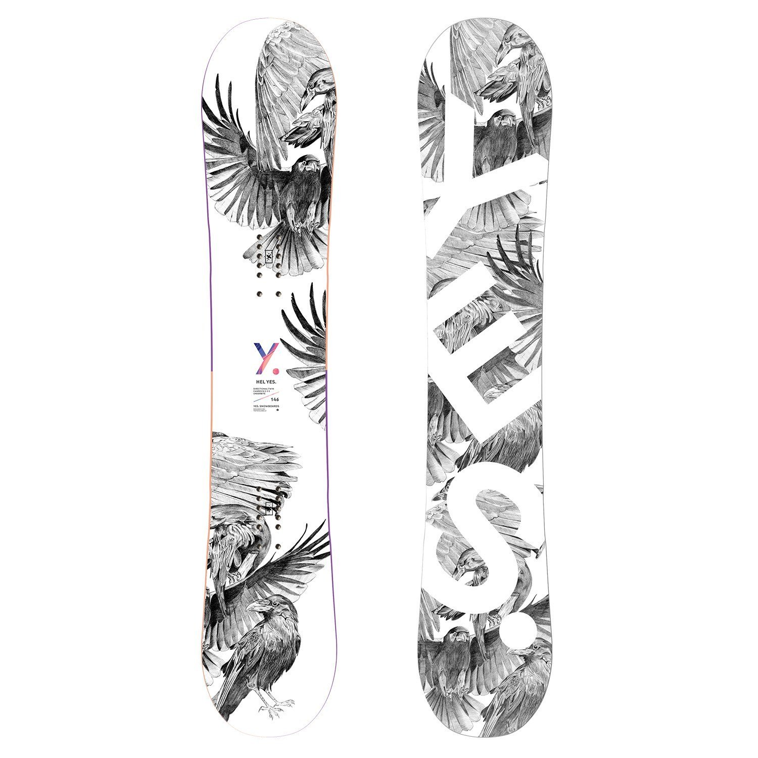 YES. Hel Yes. Snowboard