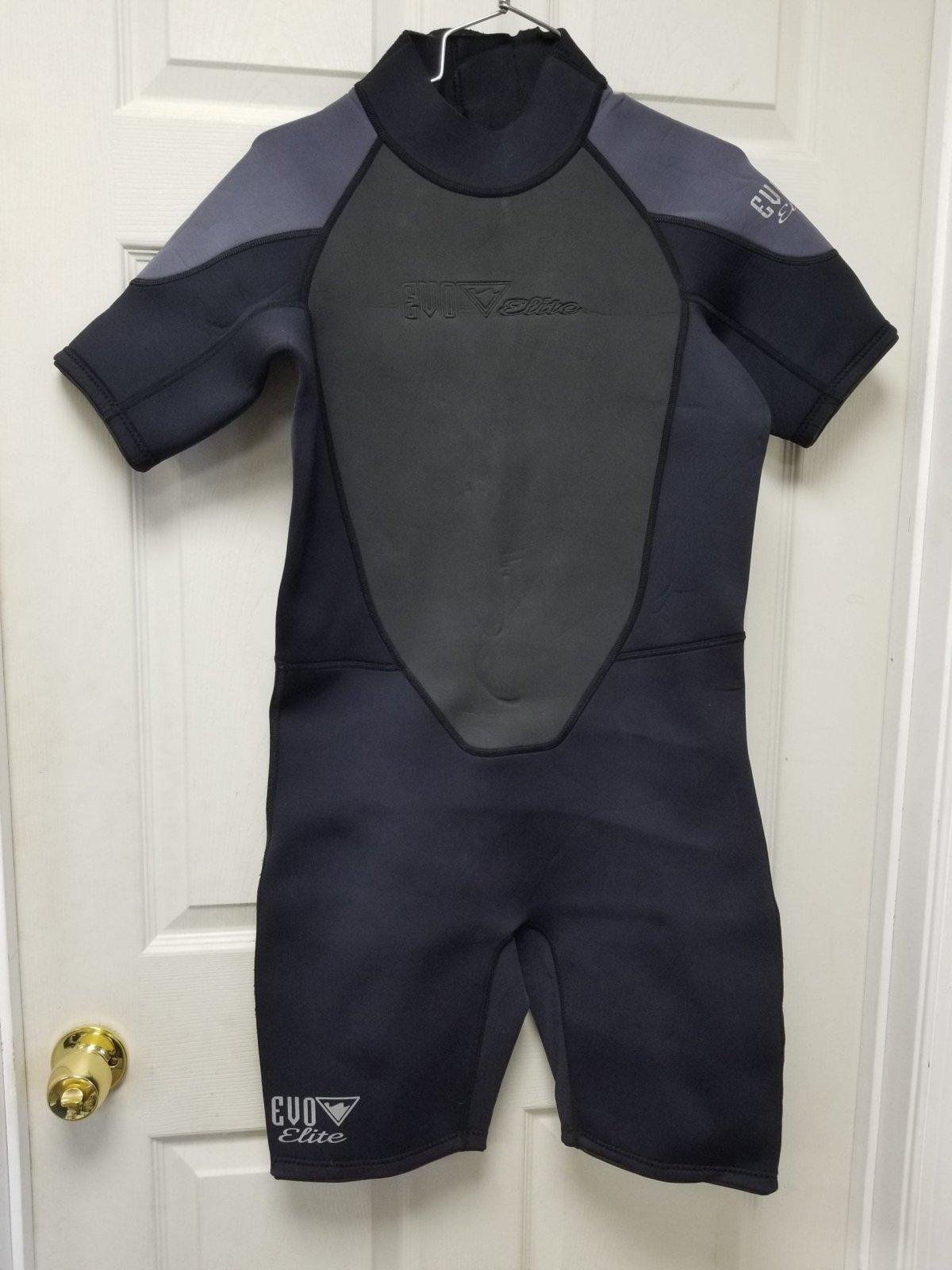 EVO Elite 3mm Shorty Wetsuit- X-Large - Used