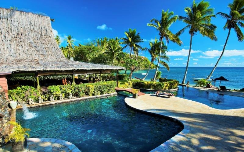 Trip/Fiji Bega Lagoon single non diver
