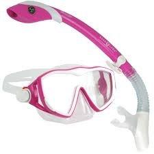 Aqua Lung Diva1 Mask/Snorkel Combo-Pink