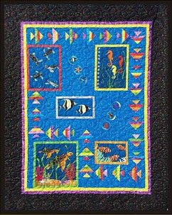 ACOT-1026 - UNDER THE SEA QUILT PATTERN BY A COTTON TREASURE DESIGN