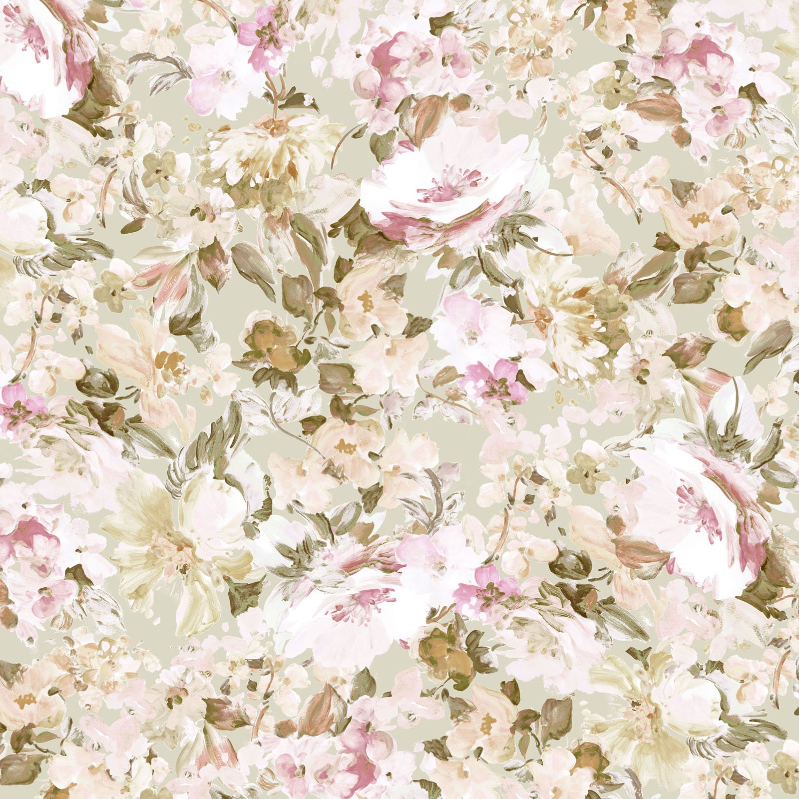 AMEI-4402 J - AMELIA 108 BY P&B BOUTIQUE FLORAL PEACH - ARRIVING IN APRIL 2021