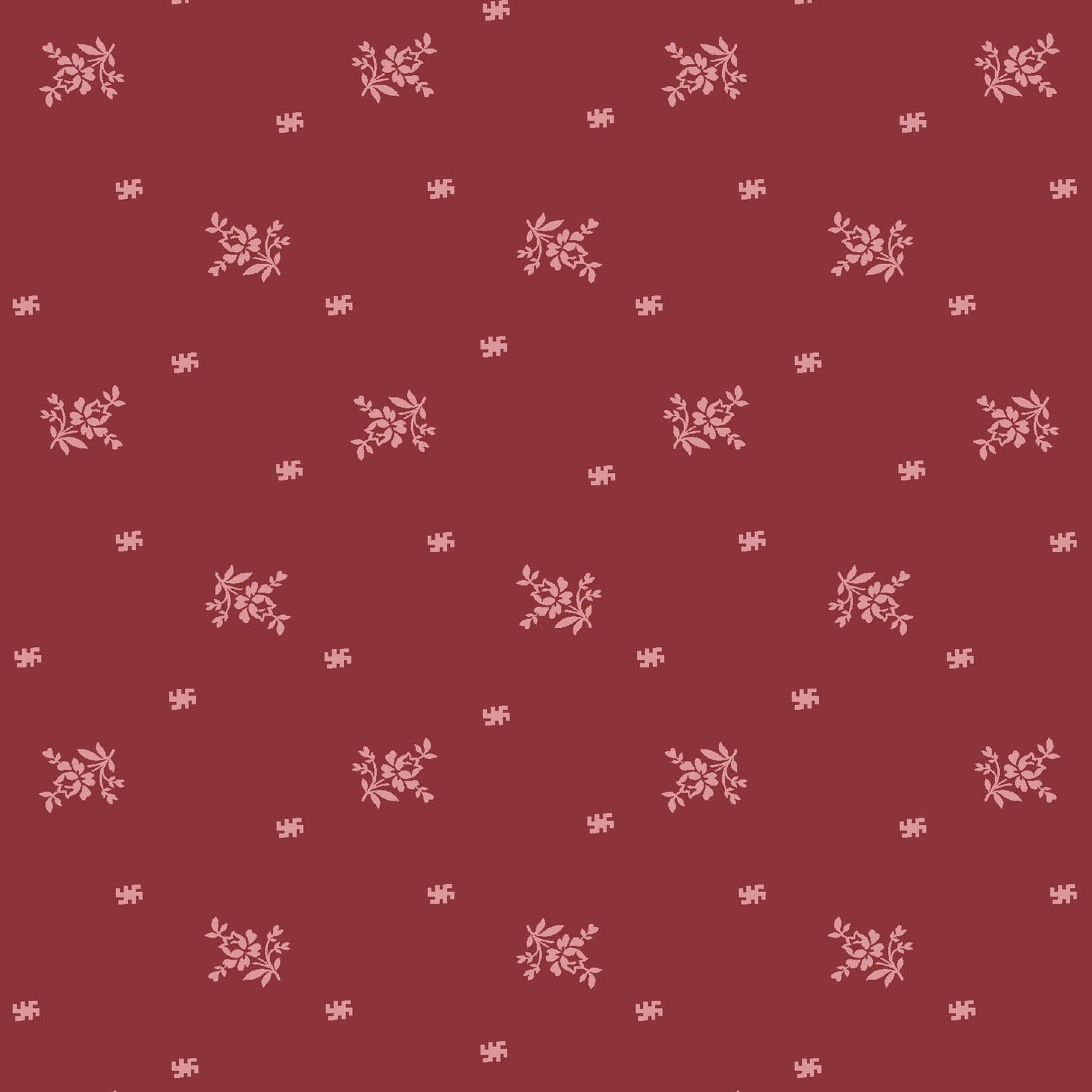 ANAS-4249 DR - ANASTASIA - RED BY P&B BOUTIQUE MONOTONE DK RED