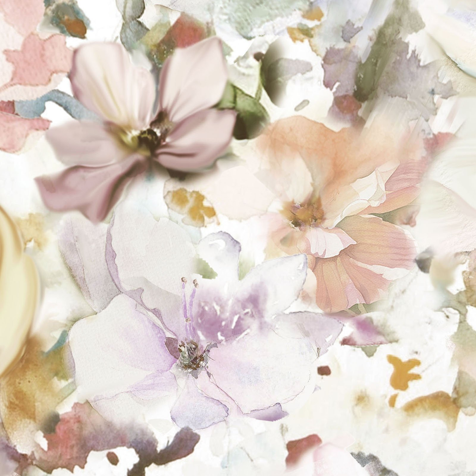 ARAW-4234 P - ARABESQUE 108 WIDE BY P&B BOUTIQUE WATERCOLOR FLORAL PINK