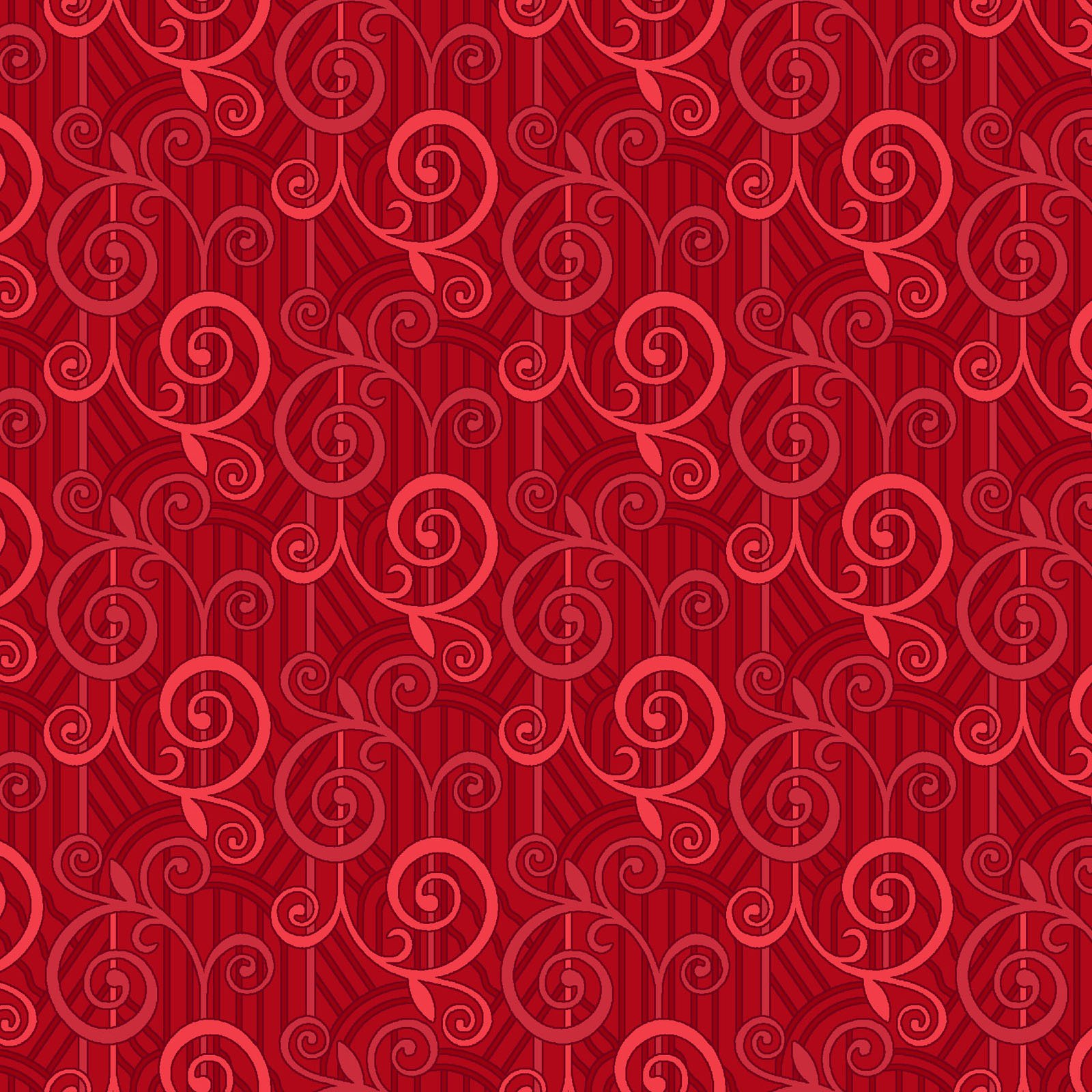 AYAN-4181 R - AYANA BY P&B BOUTIQUE GEOMETRIC RED