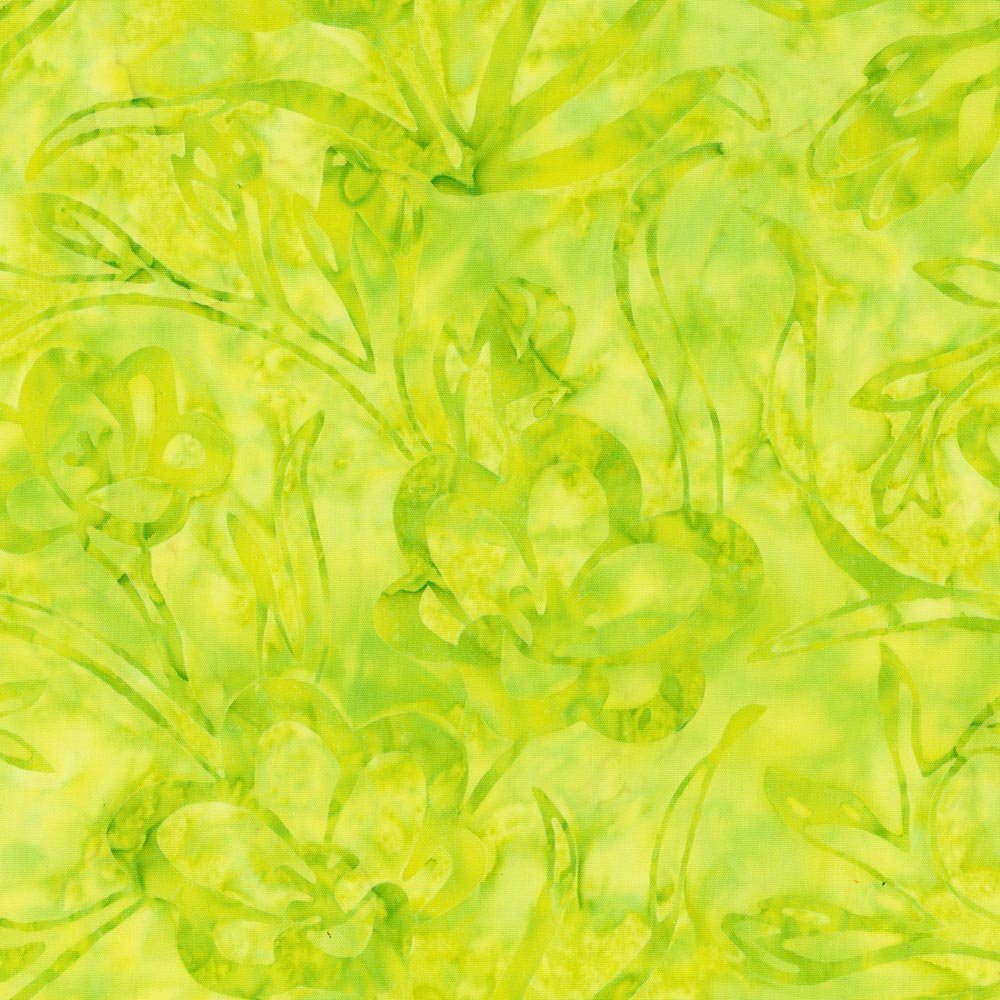 CABA-1013 758 - FREESIAS BY SHANIA SUNGA LIME GREEN INSPIRATIONS