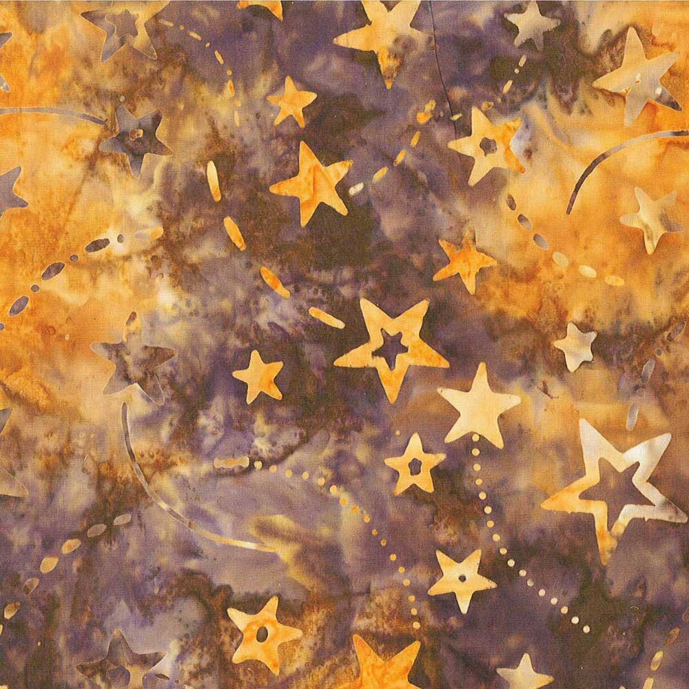CABA-1027 557 - **SHOOTING STARS BY SHANIA SUNGA BROWN/YELLOW/GOLD