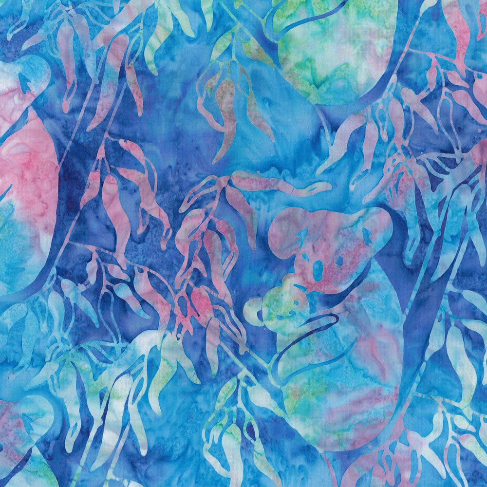 CABA-1031 102 - KOALA & BABY BY SHANIA SUNGA PURPLE/BLUE/PINK