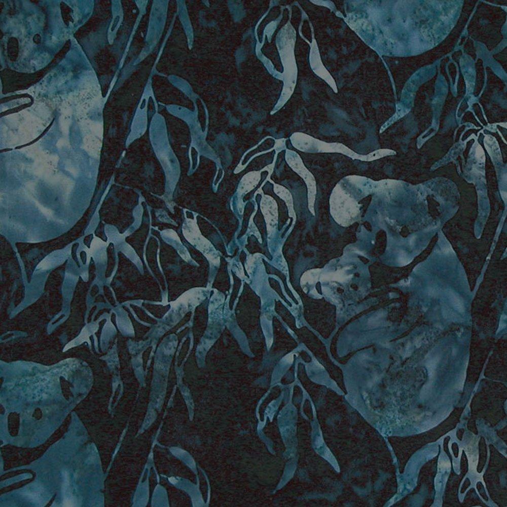 CABA-1031 495 - KOALA & BABY BY SHANIA SUNGA DK BLUE//BLACK/TURQUOISE
