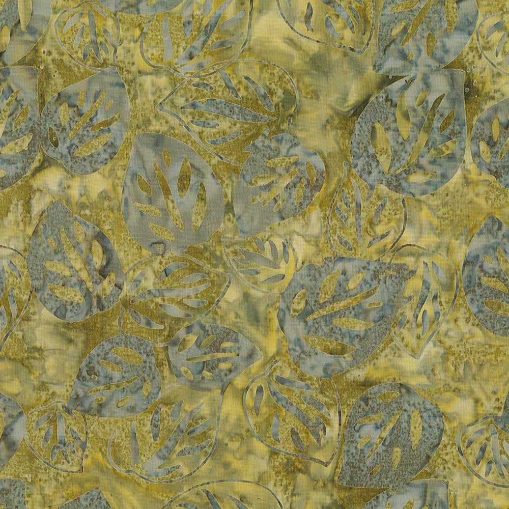 CABA-1035 718 - BAY GRAPE LEAVES BY SHANIA SUNGA GREY GREEN INSPIRATIONS