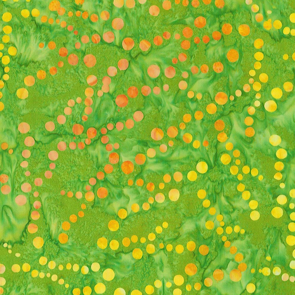 CABA-1043 765 - POLLEN BY SHANIA SUNGA GREEN/YELLOW/ORANGE INSPIRATIONS-Delivery October 2020