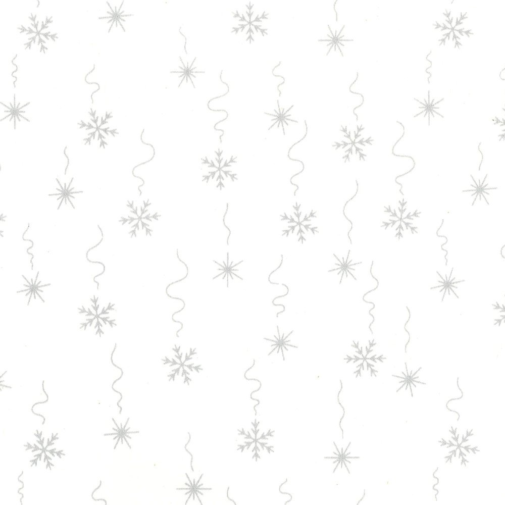 CABA-1052 001MS - FALLING SNOW BY SHANIA SUNGA WHITE/SILVER-Delivery October 2020