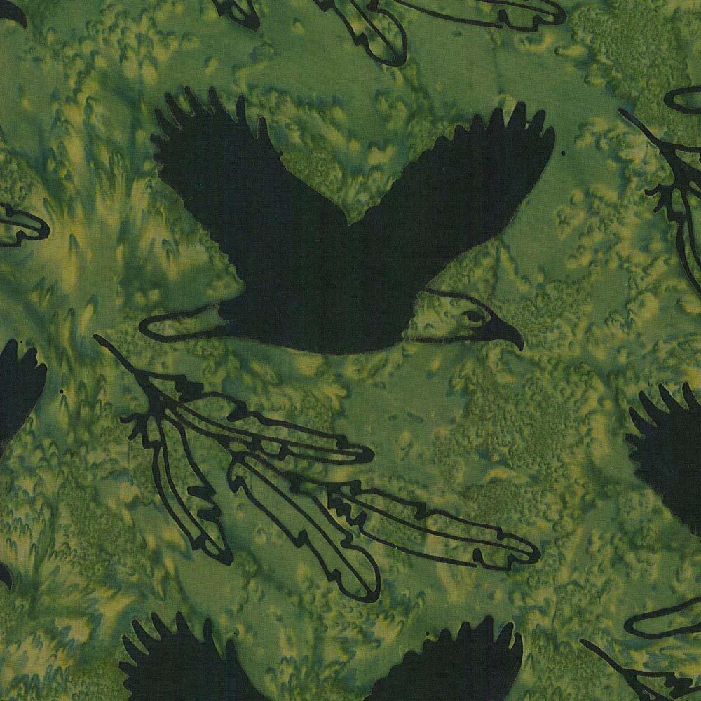 CABA-1059 999 - **SPIRIT  EAGLE BY SHANIA SUNGA GREEN BLACK