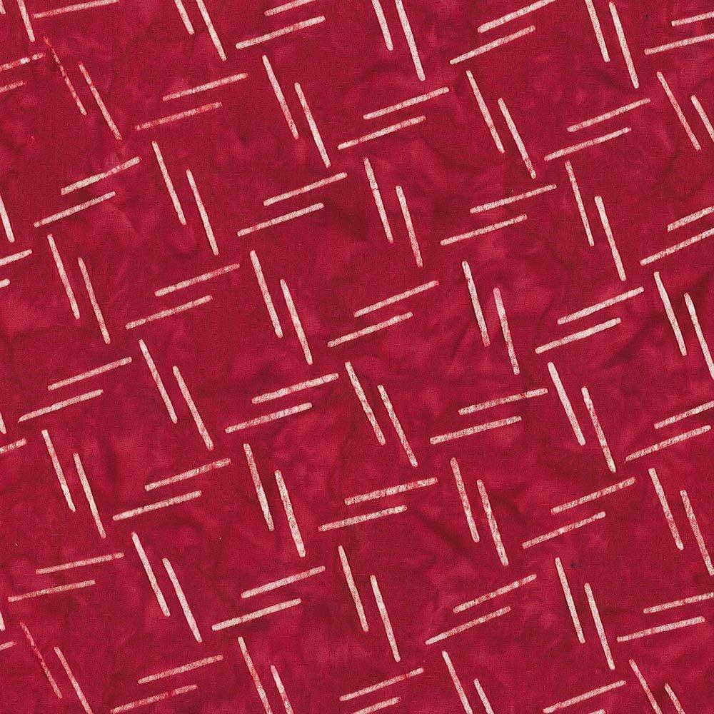 CABA-1069 001 - **MESH SHANIA SUNGA RED WHITE