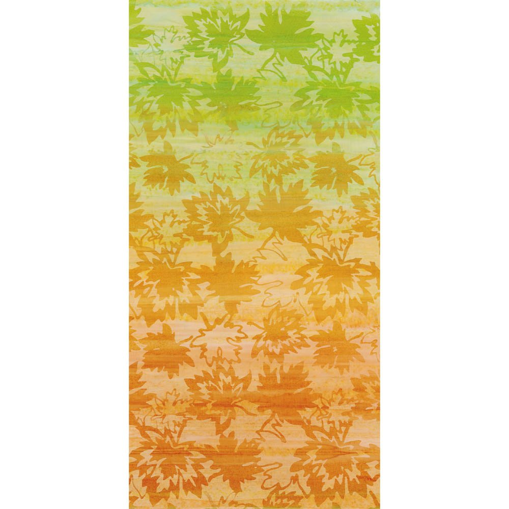 CABA-1081G 758 - CANADIAN MAPLES GRADATION BY SHANIA SUNGA GREEN ORANGE RUST