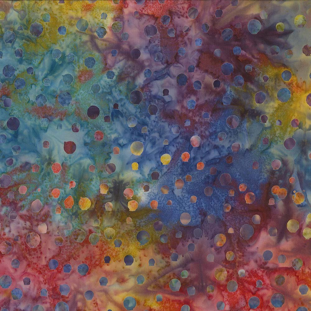 CABA-1095 116 - BUBBLY BY SHANIA SUNGA YELLOW/ORANGE/RED/PURPLE/BLUE/TEAL