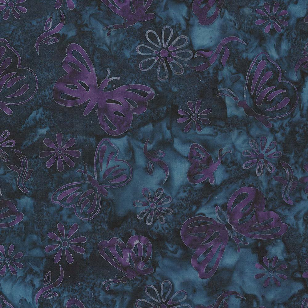 CABA-1100 490 - BUTTERFLY SUMMER BY SHANIA SUNGA BLUE PURPLE - ARRIVING IN JULY 2021