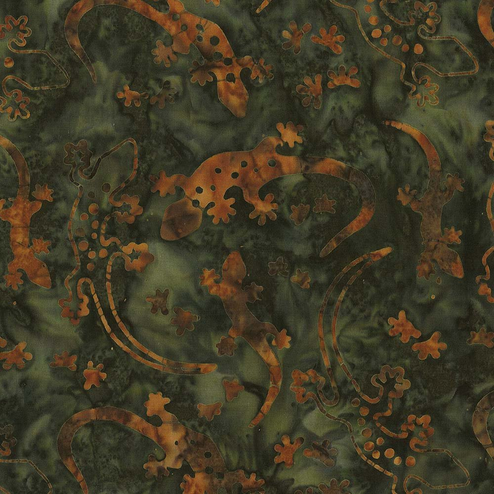 CABA-1102 291 - GECKO SUMMER BY SHANIA SUNGA GREEN RUST - ARRIVING IN JULY 2021