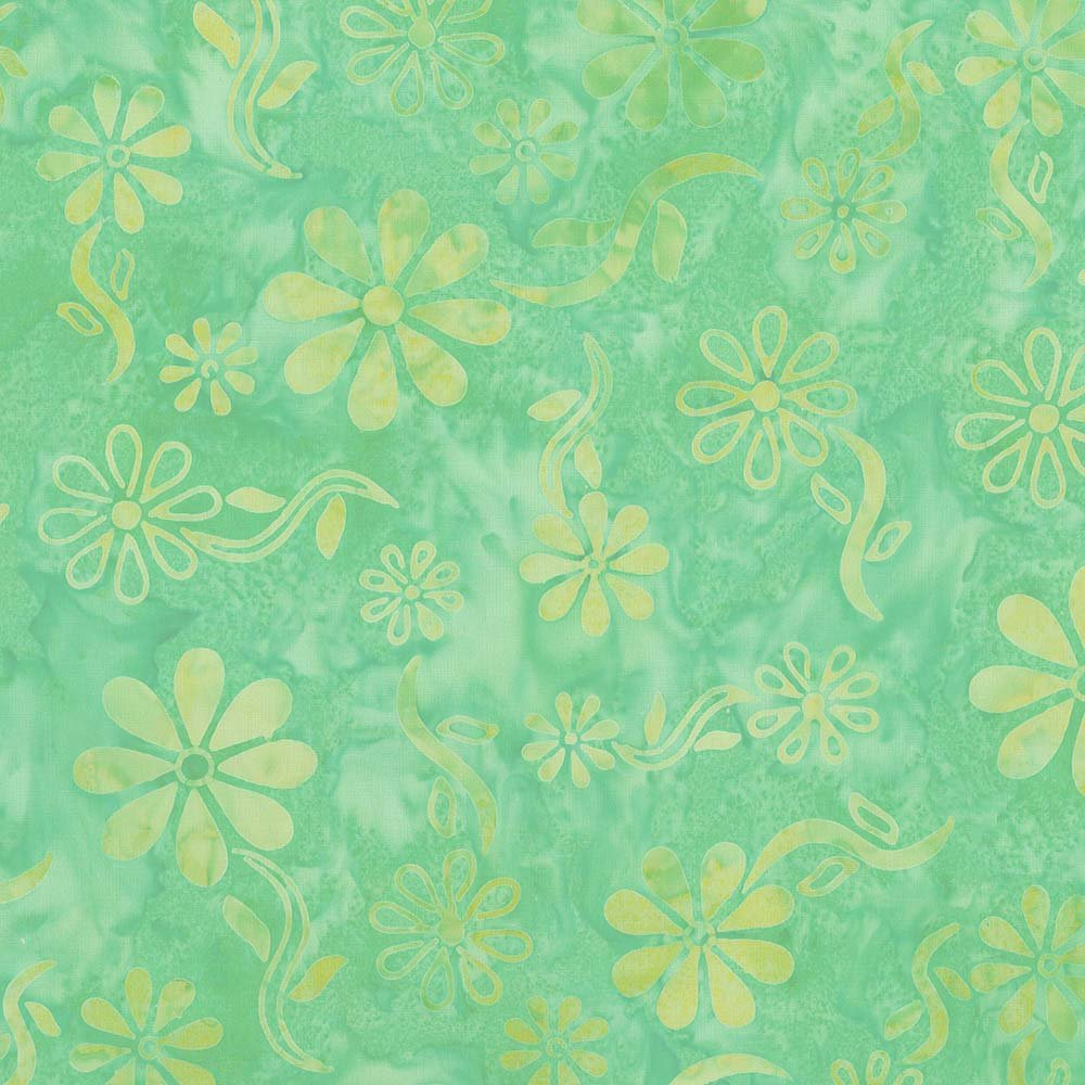 CABA-1104 805 - DAISY SUMMER BY SHANIA SUNGA TURQUOISE YELLOW - ARRIVING IN JULY 2021