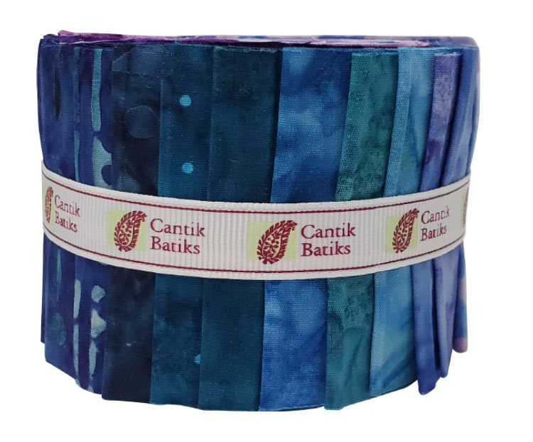 CABA-GEM25 54 - CANTIK BATIK GEMSTONES STRIP ROLLS PACK 20PCS/PK