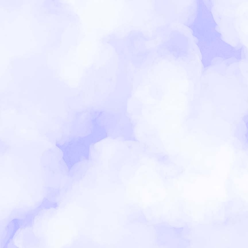 CASS-DC5011 03 - CLOUDY BY SHANIA SUNGA WHITE LT PURPLE - ARRIVING IN MAY 2021