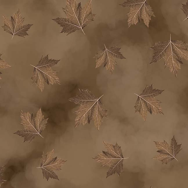 CASS-DC5012 N150 - BREEZE BY SHANIA SUNGA MAPLE LEAVES BROWN - ARRIVING IN MAY 2021