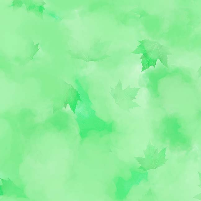 CASS-DC5013 G872 - MISTY BY SHANIA SUNGA CLOUDS & LEAVES GREEN - ARRIVING IN MAY 2021