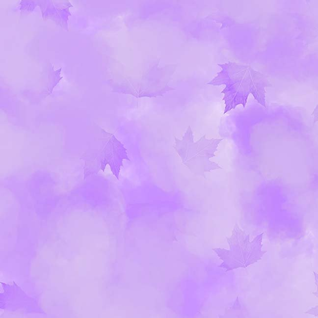 CASS-DC5013 L570 - MISTY BY SHANIA SUNGA CLOUDS & LEAVES PURPLE - ARRIVING IN MAY 2021