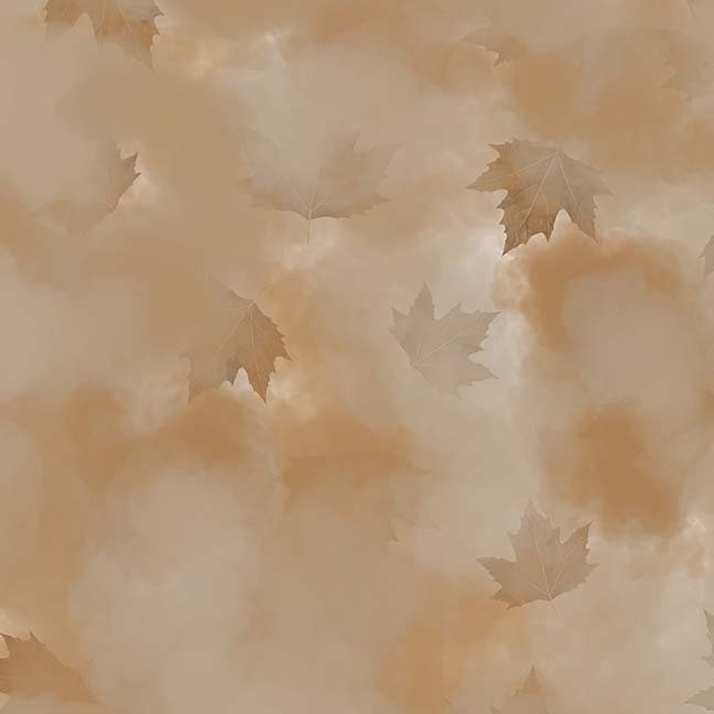 CASS-DC5013 N142 - MISTY BY SHANIA SUNGA CLOUDS & LEAVES BROWN - ARRIVING IN MAY 2021