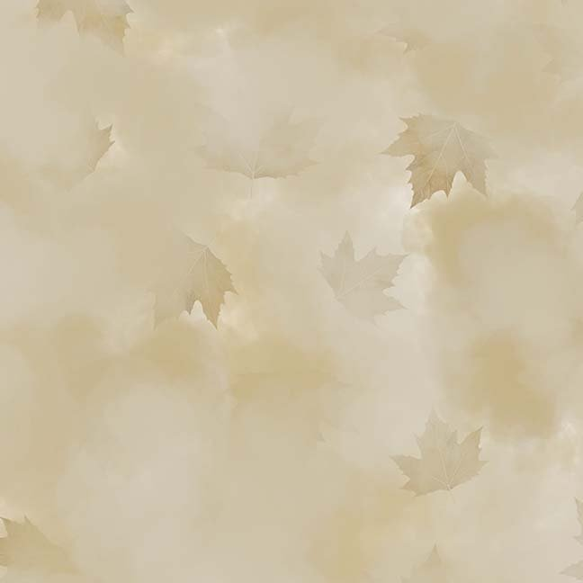 CASS-DC5013 N174 - MISTY BY SHANIA SUNGA CLOUDS & LEAVES BEIGE - ARRIVING IN MAY 2021
