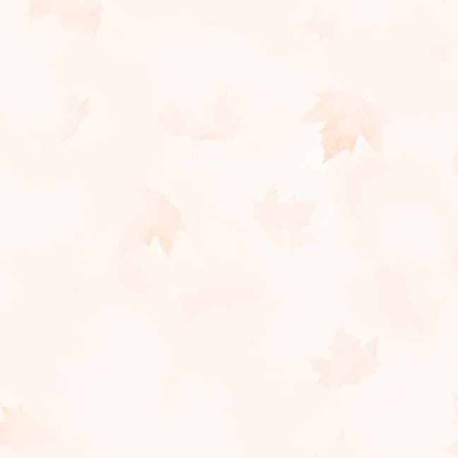 CASS-DC5013 R300 - MISTY BY SHANIA SUNGA CLOUDS & LEAVES LT ORANGE - ARRIVING IN OCTOBER 2021