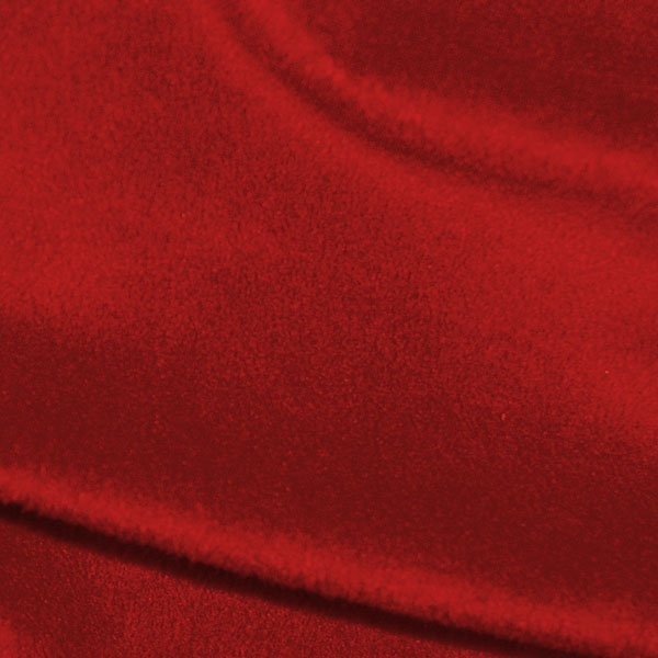 CASS-M7000 RED - SOLID 100%POLY MINKY 250GSM 58/60 RED