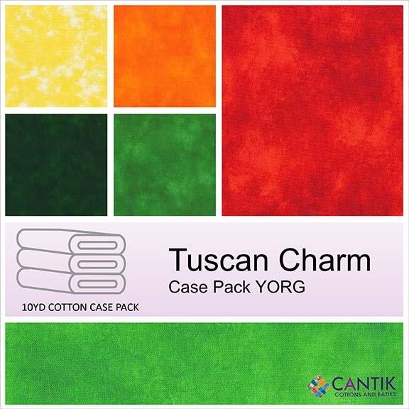 CASS-TUSC YORG - TUSCAN CHARM YORG CASE PACK BY SHANIA SUNGA 15PCSX9.1MT