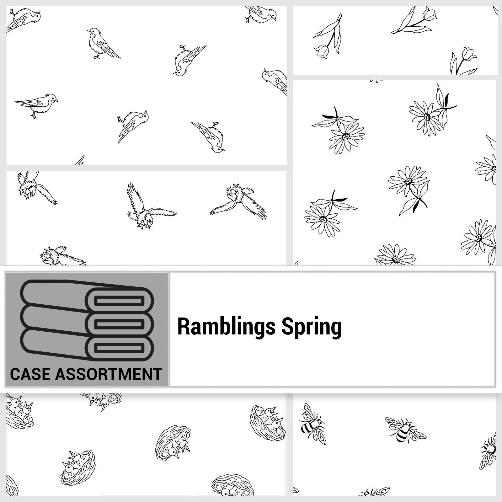 CSMD-CPFB RAMS - RAMBLINGS SPRING CASE PACK FULL BOLT x 6 PCS.