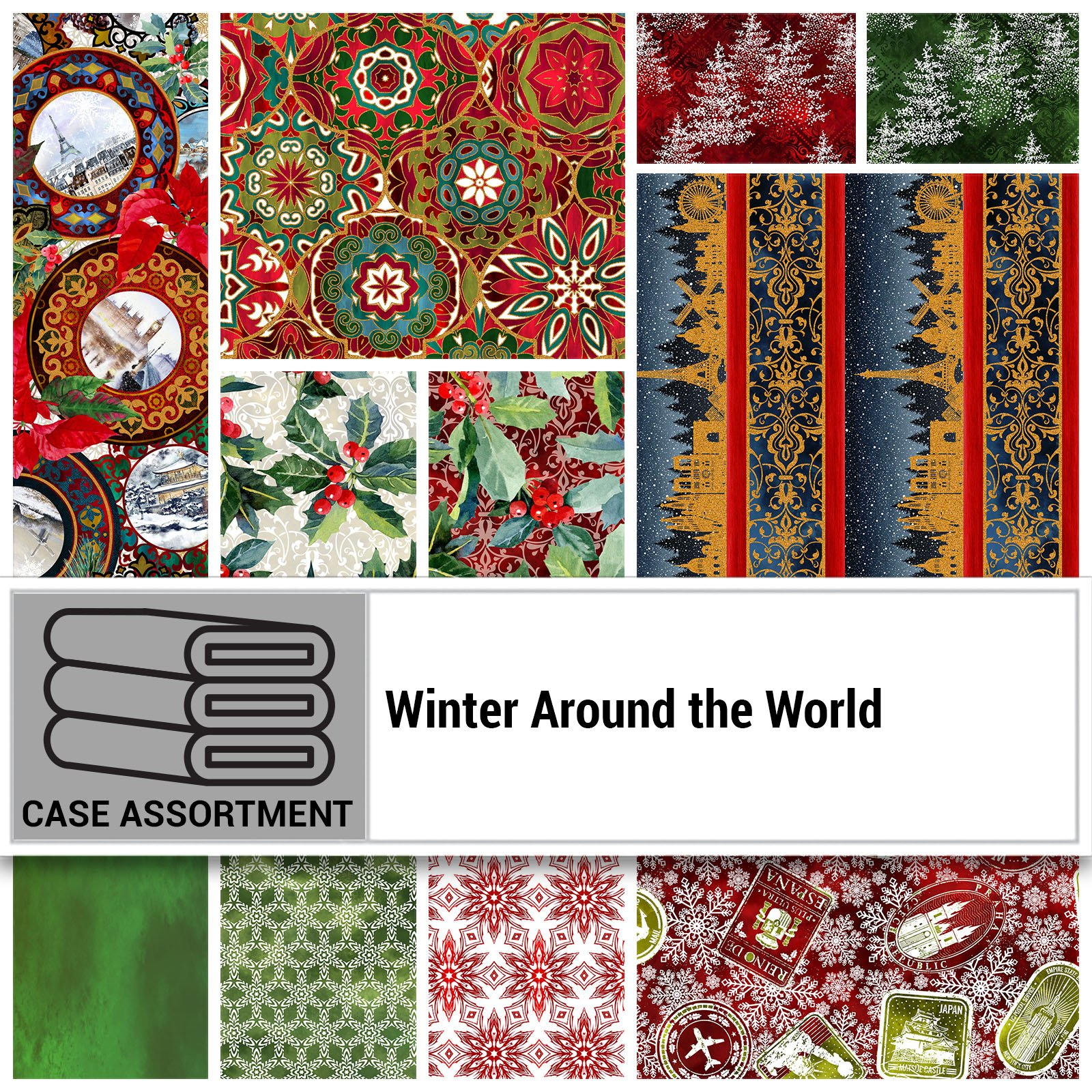 CSMD-CPFB WAW - WINTER AROUND THE WORLD CASE PACK FULL BOLT x 13 PCS.