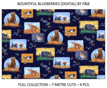 CSMD-CPHB BBLU - BOUNTIFUL BLUEBERRIES CASE PACK 7MT/BOLT x 4SKUS - ARRIVING IN JUNE 2021