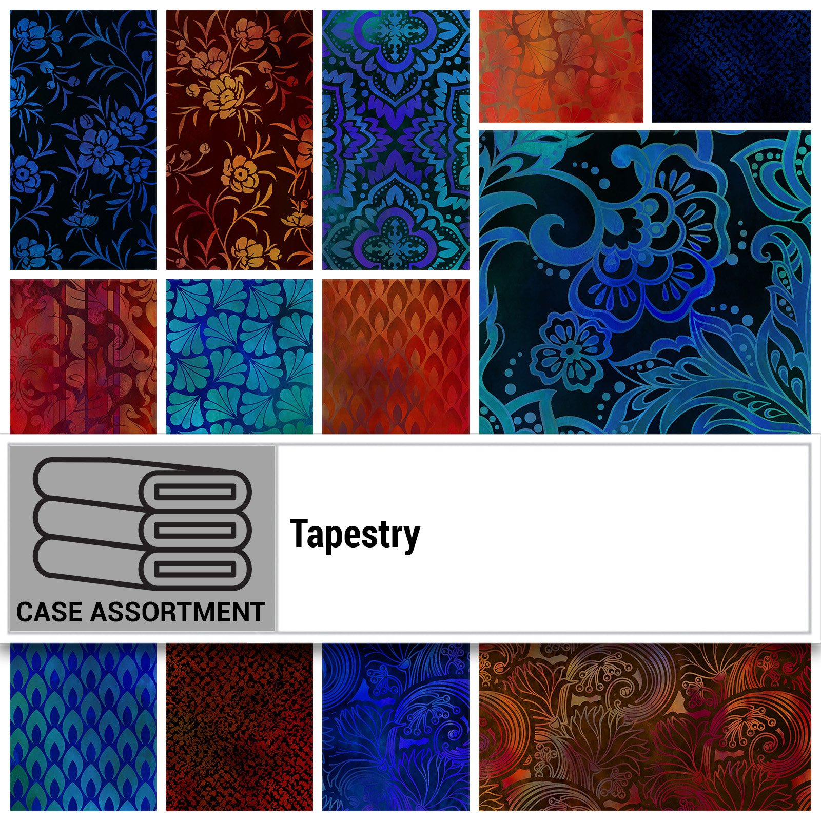 CSMD-CPHB TAP - TAPESTRY CASE PACK HALF BOLT x 18 PCS.- Delivery September 2020