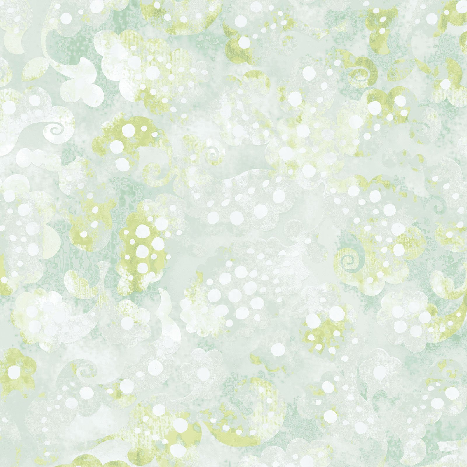DADR-4358 G - DAY DREAMS 108 BY P&B TEXTILES GREEN - ARRIVING IN FEBRUARY 2021
