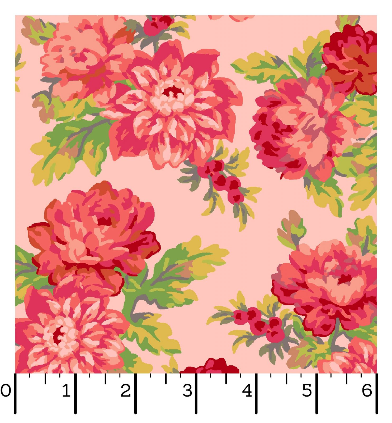 EESC-10010 P - SWEET BEGINNINGS BY JERA BRANDVIG FOCAL FLORAL PINK - ARRIVING IN JUNE 2021