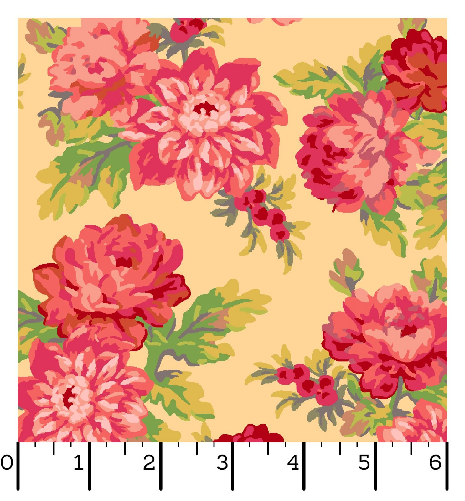 EESC-10010 S - SWEET BEGINNINGS BY JERA BRANDVIG FOCAL FLORAL YELLOW - ARRIVING IN JUNE 2021