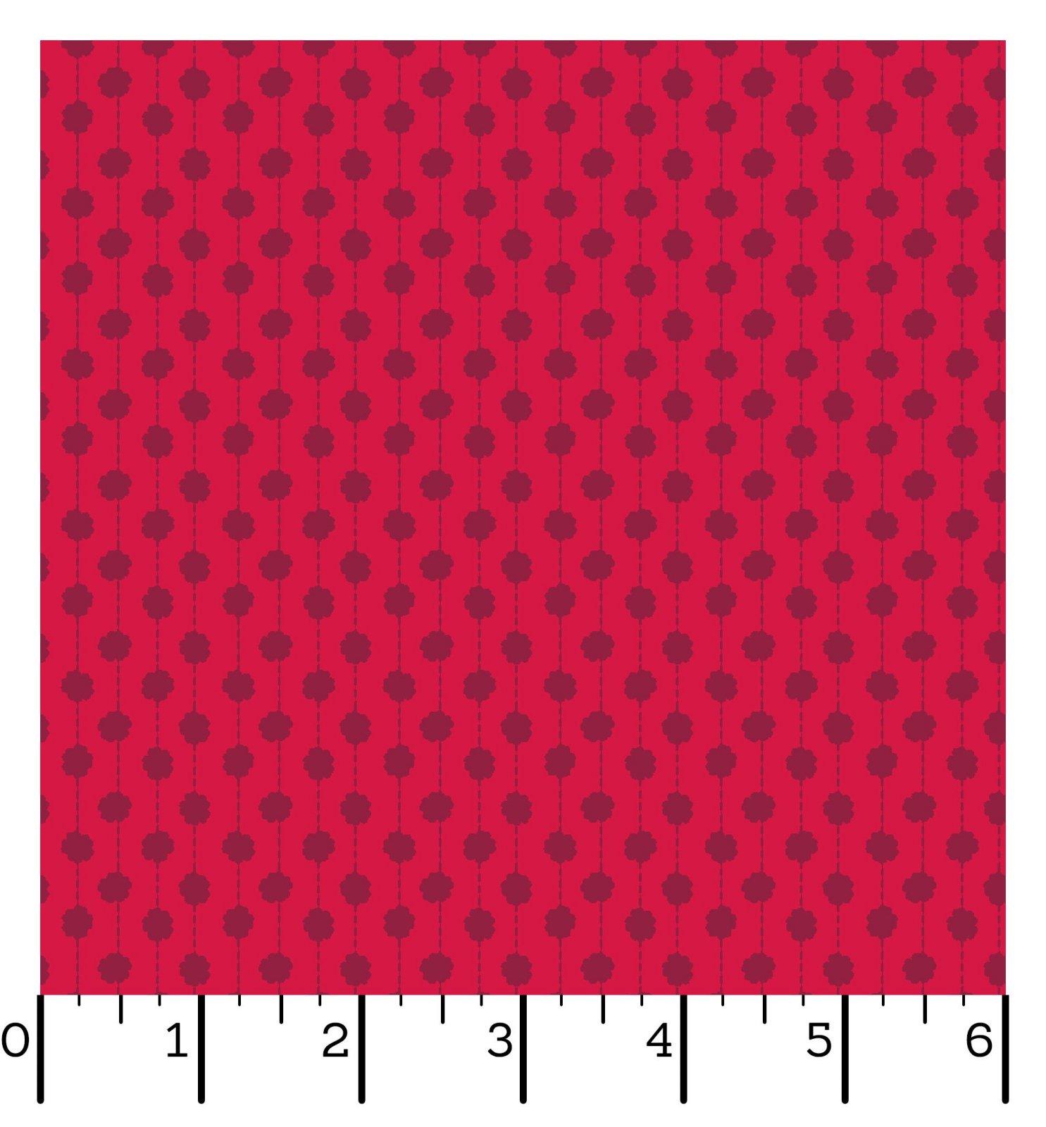EESC-10015 R - SWEET BEGINNINGS BY JERA BRANDVIG DOT STRIPE RED - ARRIVING IN JUNE 2021